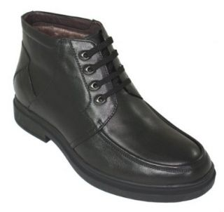 Taller   Height Increasing Shoes for Men (Black Casual Boot) Shoes