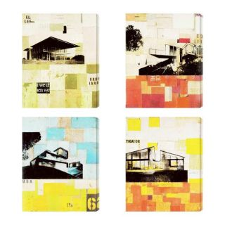 Sustainable Living I IV Giclee Canvas Wall Art (Set of 4