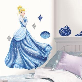 Disney Princess Cinderella Glamour Peel & Stick Giant Wall Decal