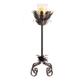 Audrey II Bronze 36 inch Floor Stand Flameless Candle Holder