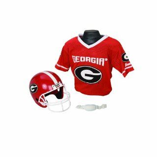 NCAA Georgia Bulldogs Helmet and Jersey Set: Sports