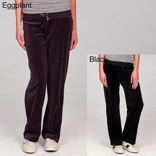Calvin Klein Performance Womens Velour Drawstring Pants