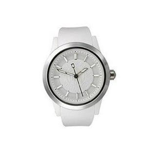 DKNY Womens White Dial Analog Watch