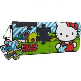 Hello Kitty Sanwa0332 Wallet,Black/White/Red/Green/Blue