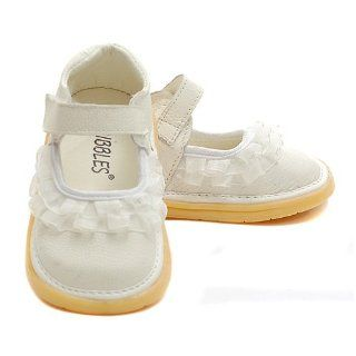 Ruffled Mary Jane Shoes Baby Toddler Little Girls 3 12 No Shoes