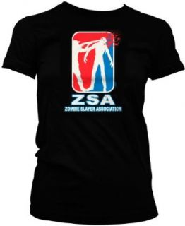 ZSA Zombie Slayer Association Juniors T shirt, Funny