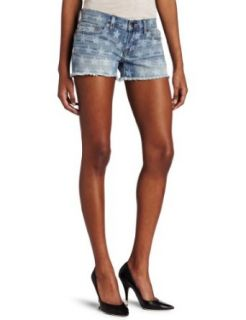 Lucky Brand Womens Riley Frayed Short Clothing