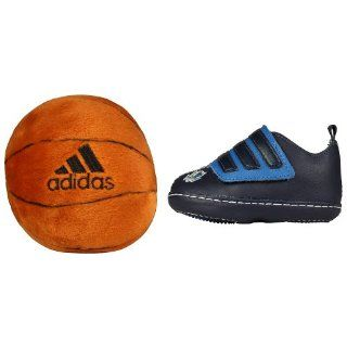 Adidas Girl Boy Baby Infant Basketball Shoes + Stuffed