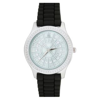 Techno Master Womens White Mother of Pearl Dial Watch
