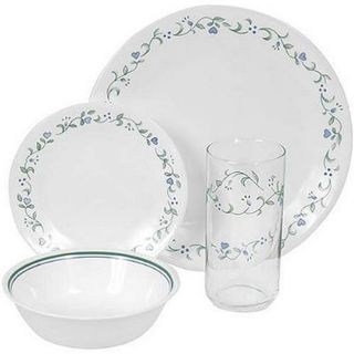Corelle Livingware Country Cottage 16 piece Dinnerware Set