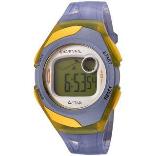 Activa Womens Blue Digital Multi Function Watch