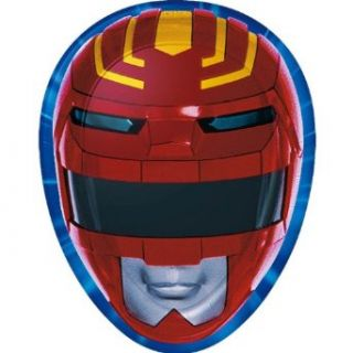 Power Rangers Shaped Dinner Plates (8 count) Clothing