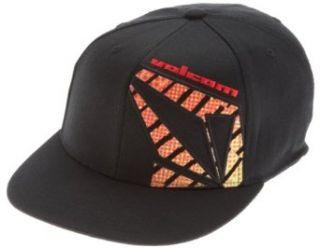 Volcom Mens Transplant 210 Fitted Hat,Red,Small/Medium