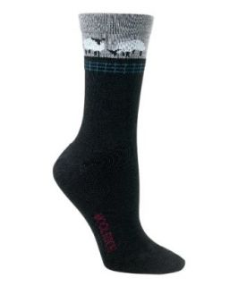 Woolrich Womens Wool Sheep Sock Clothing