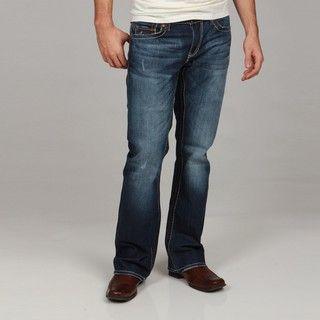 Seven7 Mens Droide Big Stitch Bootcut Jeans