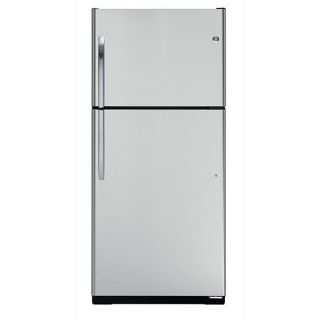 GE 18 cubic foot Stainless Steel Top freezer Refrigerator