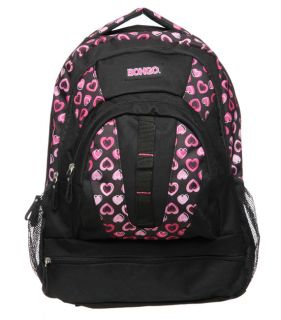 Bongo Hearts 19 inch Backpack