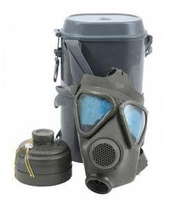 German Drager M65 NBC Gas Mask