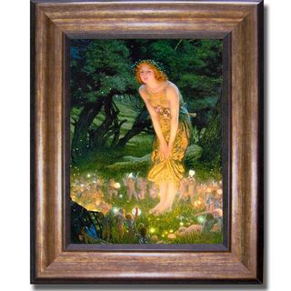 Edward Hughes Midsummer Eve Framed Canvas Art