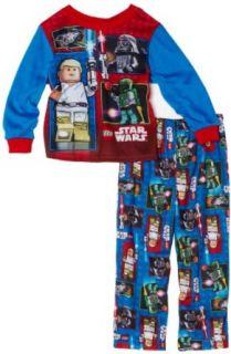 Ame Sleepwear Boys 2 7 Lego Star Wars 2 Piece Set, Blue