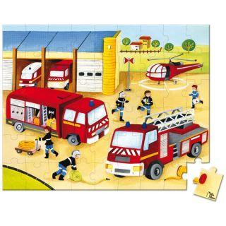 54 pièces   Lovely Puzzle  Pompiers   Achat / Vente PUZZLE Puzzle 54