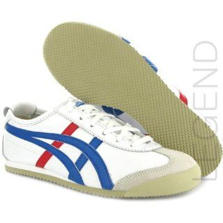 com Onitsuka Tiger Mexico 66 White Blue Leather Mens Trainers Shoes