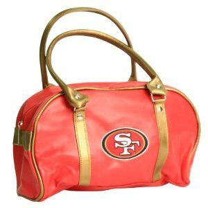 NFL San Francisco 49ers Purse Handbag Women Ladies Simil