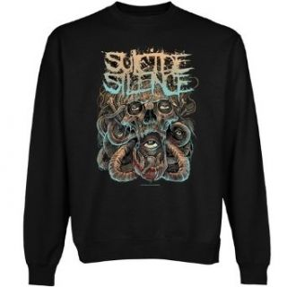 Suicide Silence Eyes of the Abyss Sweatshirt   Black