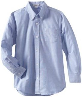 Kitestrings Boys 8 20 Solid Button Front Long Sleeve Shirt