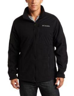 Columbia Mens Ballistic II Fleece Tall Jacket, Black