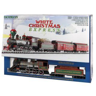 Bachmann G Scale White Christmas Train Set