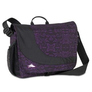 High Sierra Chip Messenger Plum Lace Laptop Messenger Bag