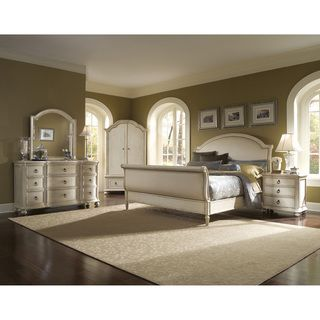 Provenance Upholsered Sleigh 4 Piece Queen Bedroom Se