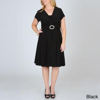 Richards Womens Plus Ring embellished Dress