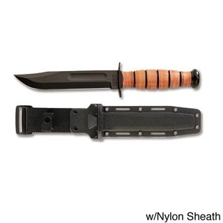 Ka Bar Staight Edge Full size US Navy Fixed Blade Knife