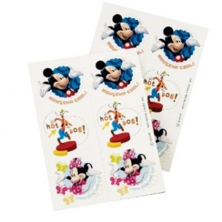 Mickey Mouse Clubhouse Tattoos Party Accessory (8 sheets