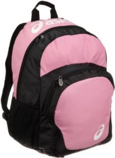 ASICS Unisex Adult Team Backpack,Pink Black,One Size