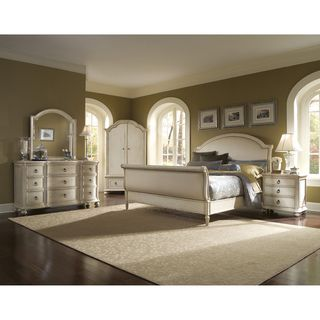 Provenance Upholstered Sleigh 5 piece King size Bedroom Set