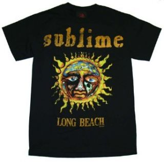 Sublime Sun Logo Long Beach Rock Band T Shirt Tee