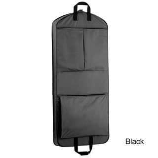 WallyBags 52 inch Extra Capacity Garment Bag with Pockets