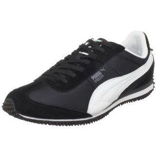 PUMA Mens Speeder RP Sneaker,Black/White/Steel Grey,7 M US Shoes