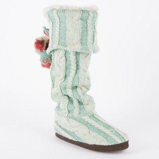 Muk Luks Anika Scandinavian Cuffed Slipper Boot