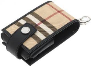 Burberry Womens iPod Case with Leather Trim, Nova
