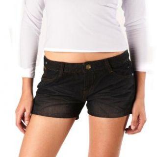 Jessie G. Womens Low Rise Embellished Denim Shorts