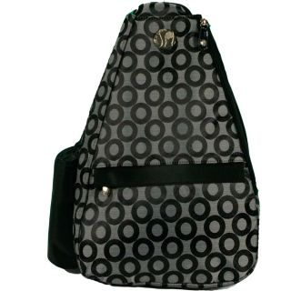 Jet Pac Winners Circle Grey/ Black Tennis Sling Bag
