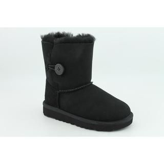Ugg Australia Toddler Bailey Button Regular Suede Boots