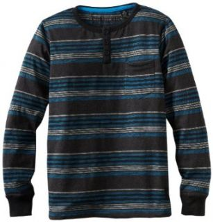 Micros Boys 8 20 Endless Long Sleeve Henley Tee Clothing