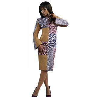 Lisa Rene Womens Faux Suede Dress