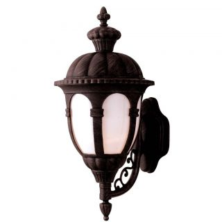 Antique Bronze 1 light Outdoor Wall Fixture