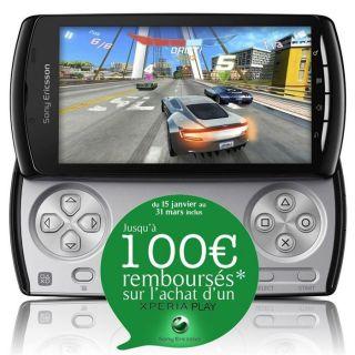 Sony Ericsson XPERIA PLAY   100€ remboursés   Achat / Vente